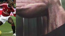 Seedorf, che potenza: è un ex calciatore ma continua ad allenare la sua muscolatura