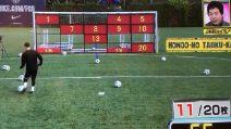 Messi vince la sfida in meno di 100 secondi: che show della Pulce