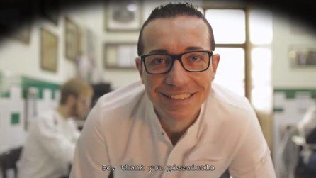 L'omaggio del re dei panini all'arte dei pizzaioli napoletani nel nuovo video di Fatelardo