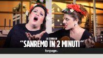 L'evoluzione di Sanremo in 2 minuti