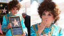 """La stella di Gina Lollobrigida brilla sulla Walk of fame: """"Sono davvero commossa"""""""