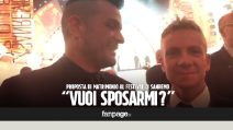 La proposta di matrimonio durante il Festival di Sanremo