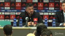 """Gattuso: """"Parlare solo di spirito di squadra è riduttivo"""""""