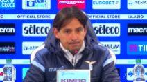"""Lazio, Inzaghi: """"In questo momento dobbiamo dare il 120%"""""""