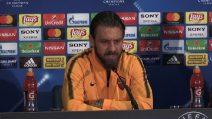 """Champions, De Rossi: """"Consapevole dell'importanza della partita"""""""