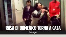 """Rosa Di Domenico riabbraccia la famiglia: """"E' nata una seconda volta"""""""