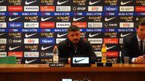 """Gattuso: """"Questo Milan è una squadra compatta"""""""