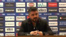 """Gattuso: """"Siamo stati bravi ma la strada è ancora lunga"""""""
