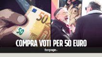 Compra voti per 50 euro, le reazioni dei passanti [Esperimento sociale]