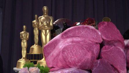 Carne wagyu e cioccolato rosa, il menù della notte degli Oscar