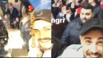 Francesco Monte ad Angri: i fan in delirio per lui