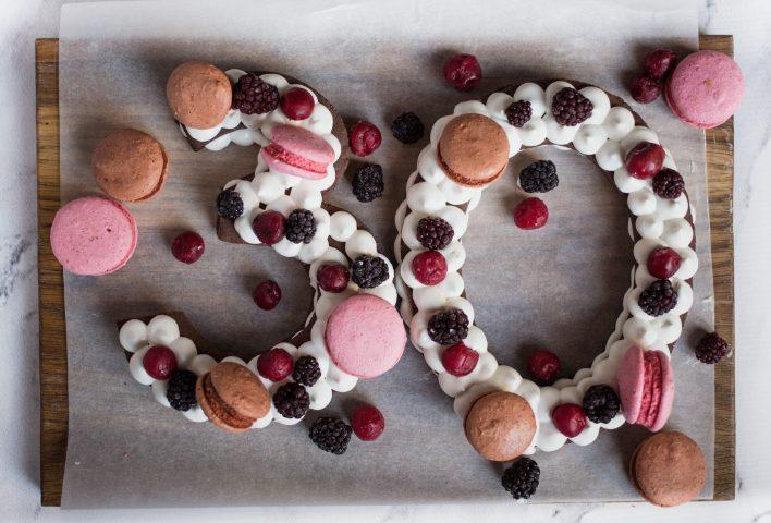 Cream tart a forma di numero la torta ideale per ogni festa di compleanno!