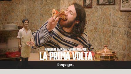 Mangiare la vera pizza per la prima volta a Napoli - La reazione dei turisti