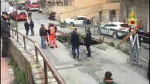 Genova: pensionato trovato morto nella voragine aperta in strada