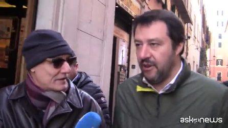 """Presidenti Camere, Salvini: """"Vogliamo chiudere velocemente, i nomi li faremo in Aula"""""""