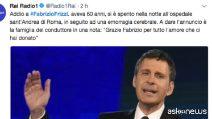 Morto a 60 anni Fabrizio Frizzi, volto garbato della tv italiana