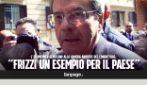 """Morte Fabrizio Frizzi, Gentiloni alla camera ardente: """"Un esempio per la Rai e per tutto il Paese"""""""