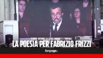La commovente poesia per Fabrizio Frizzi letta da Flavio Insinna ai funerali