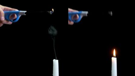 """Come accendere una candela senza toccarla con la fiamma: la """"magia"""" è semplice"""