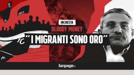 """Bloody Money 7 - Il business degli esseri umani: """"Migranti sono oro. Chi controlla? Solo i cittadini"""""""