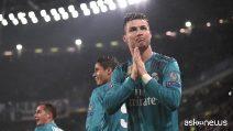 Ronaldo ringrazia il pubblico di Torino per la standing ovation