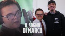 Vittima di bullismo per la sua Sindrome di Down, Marco realizza il suo sogno