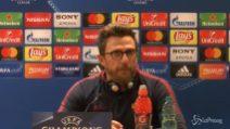 """Di Francesco: """"Voglio una grande Roma contro il Barça"""""""