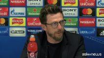 """Champions, Di Francesco: """"Fondamentale essere ancora più squadra"""""""