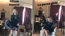 """Isola dei Famosi, Alessia Marcuzzi scatenata a poche ore dalla finale: """"La pazza gioia"""""""