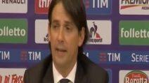 """Inzaghi: """"Lazio straordinaria, di arbitri non parlo più"""""""