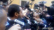 """Governo, Salvini ostenta ottimismo: """"Metà dell'opera si è fatta, l'altra metà la settimana prossima"""""""