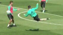 Nuova fantastica rovesciata di Cristiano Ronaldo: gol da campione