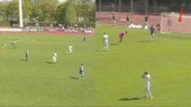 Il pazzesco rilancio-gol del portiere: segna da una distanza di 80 metri