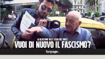 Come reagiresti alle leggi fasciste?