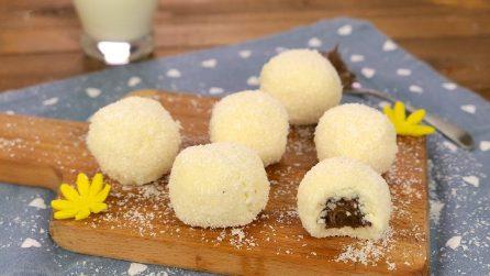 Tartufi cocco e cioccolato: il dolcetto pronto in pochi minuti!