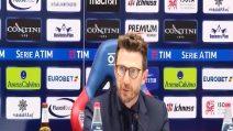 """Di Francesco: """"Dobbiamo fare salto di qualità a livello di mentalità"""""""