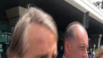 Mancini sbarca a Roma, la Nazionale riparte da lui