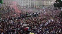A Torino la festa scudetto della Juventus