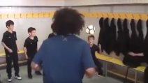 Sfida dei colpi di testa con i bambini: Marcelo vince, barando