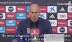 "Zidane,annuncio a sorpresa: ""Lascio il Real Madrid"""