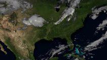 La magia della natura vista dallo spazio: i fulmini in time-lapse