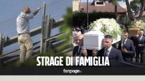Pescara, i funerali di Marina e della figlia Ludovica, uccise da Fausto Filippone