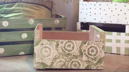 Mobili Fai Da Te Con Cassette Della Frutta : Come trasformare una cassetta della frutta in modo originale