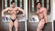 Passione body building: l'Hulk umano