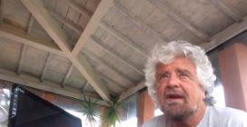 """Beppe Grillo: """"Nessuno vuole chiudere Ilva, vogliamo riconvertirla"""""""