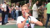 Emma Marrone canta per i pazienti dell'Ospedale Bambino Gesù