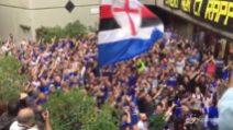 """""""Ferrero, Ferrero vaffa*****"""": durissima protesta dei tifosi della Sampdoria"""