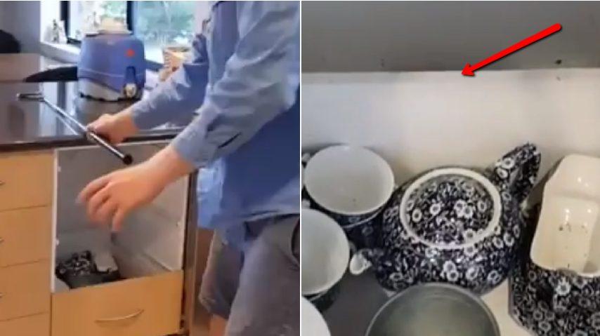 La Credenza Gas : Il pericolo nascosto in cucina aprono la credenza e restano