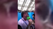 """Mondiali, il telecronista messicano """"esplode"""" al gol di Lozano"""