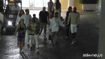 LeBron James in vacanza a Capri dopo il contratto con i Lakers
